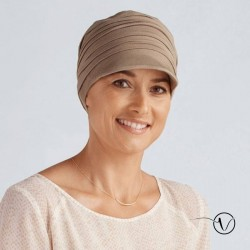 Bamboo Chemo Hat Tigerly Amoena - Dark Sand