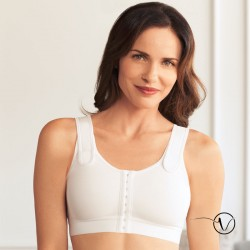Sarah Compression Bra - White