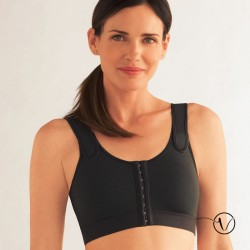 Sarah Compression Bra - Black
