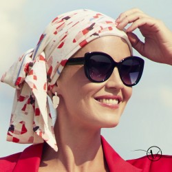Turban Foulard lin Adora - Lovely