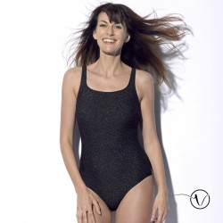 Mastectomy swimsuit Meryl - Black Gold