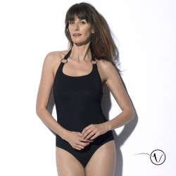 Mastectomy Swimsuit Carmen - Black - Marli