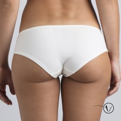 Marguerite Bikini Brief - White