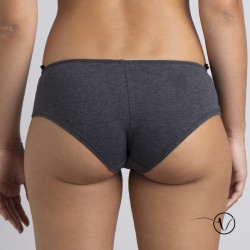 Lison Brief - Grey organic cotton