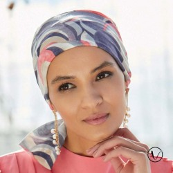 Turban Madrid Summer Short Gisela Mayer - Rose Violet