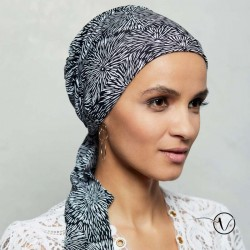 Chemo Head scarf Madrid Gisela Mayer - Black