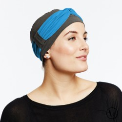 Chemo headband Tendance Blue roy