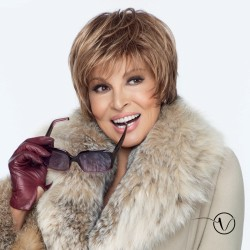 Short Wig - Cape - Monofilament Raquel Welch