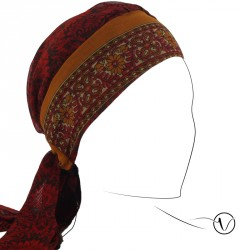 Chemo Head Scarf - Saree Ziva