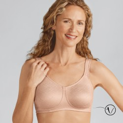 Dianna Wireless Mastectomy Bra - Black - Amoena