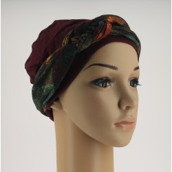 Chemo Headband Sara Amazonie with braided part