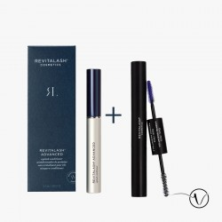Pack Wimpern und Mascara: 1 Revitalash 3 Monate + 1 Duo Schwarz by Revitalash