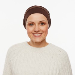 Chemo cap Pascale Taupe
