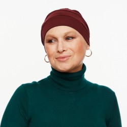 Turbante chemio Pascale Bordeaux