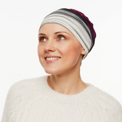 Stylish Chemo Cap Pascale – striped