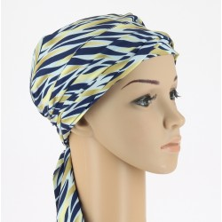 Teresa Pre-Formed Head Scarf Flamme