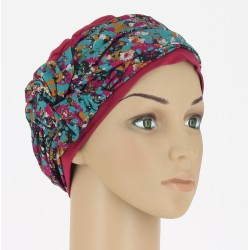 Bamboo Chemo Turban - Mathilde Light Pink painted