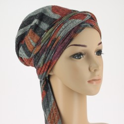 Winter Chemo Head Scarf - Tatiana Indian Summer