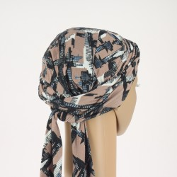 Simona Pre-Formed Head Scarf - City