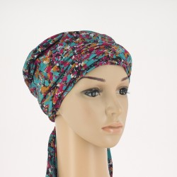 Simona Bamboo Chemo Head Scarf - Painted