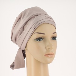 Teresa Pre-Formed Head Scarf - Mauve