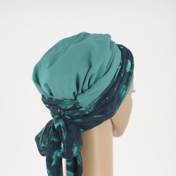 Green Head Scarf - Amelia Chusto