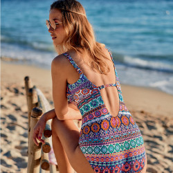 One-piece mastectomy swimsuit Menorca – Amoena
