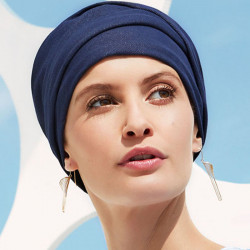 Turban Foulard Viva Denim - Christine headwear