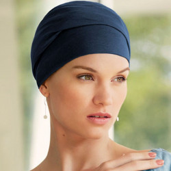Turbante chemio in cotone Viva Calin - Vintage