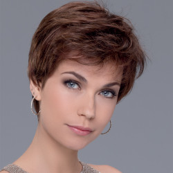 Short Wig - Zazie - Mono-crown**