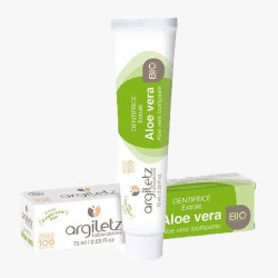 Dentifricio biologico all'Aloe Vera - Argiletz