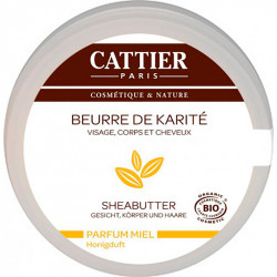 100% Organic Sheabutter honey - Cattier | Oncovia