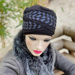 Chemo Turban aus Bambusfaser Doris Frisson - MM Paris