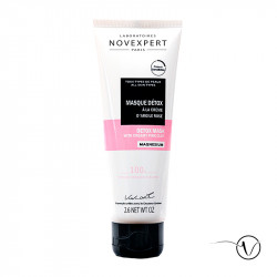 Detox Mask with Pink Magnesium Clay Cream - Novexpert