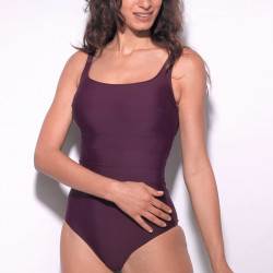 Mastectomy swimsuit Liberty bordeaux Marli