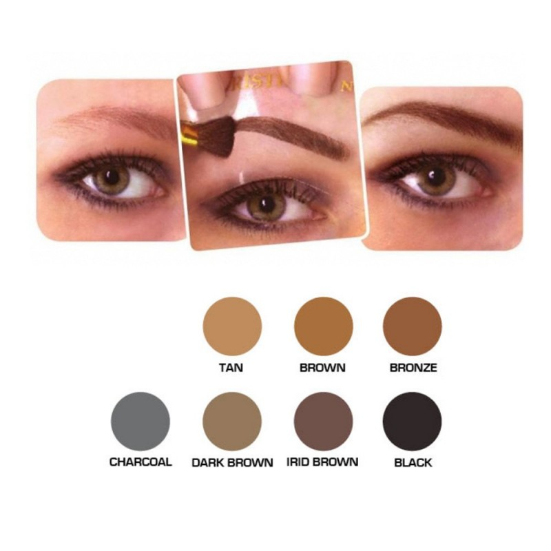 christian cosmetics kit maquillage sourcils irid brown oncovia. Black Bedroom Furniture Sets. Home Design Ideas