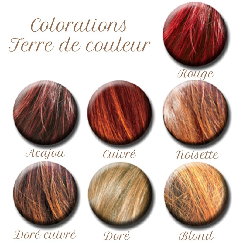 Coloration vegetale cheveux rouge