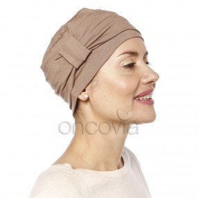 Turbante Chemio Edith - Taupe