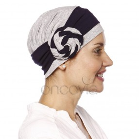 Cap Rose – Grey and Blue
