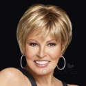 Short Wig - Nebraska - Monofilament****